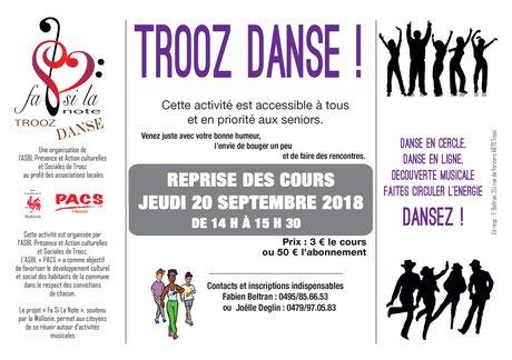 Trooz danse 2018
