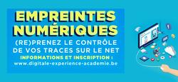 """Conférence """"Empreintes numériques"""" le 22 novembre"""