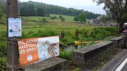 """Installation d'un barrage aux """"OFNI"""" (objets flottants non identifiés)"""