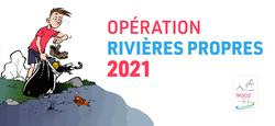 Opération rivières propres du 24/04/2021