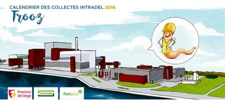 Calendrier collecte des déchets 2018