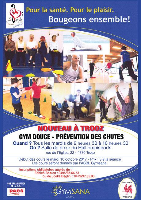 gym douce prevention