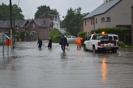Inondations - communiqué du Bourgmestre