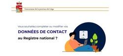 Mettre à jour ses données de contact au Registre national : vidéo informative