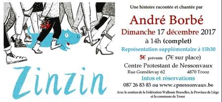 Concert d'André Borbé