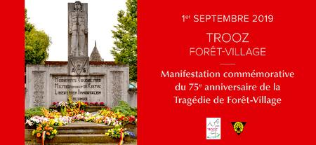 75e anniversaire de la Tragédie de Forêt