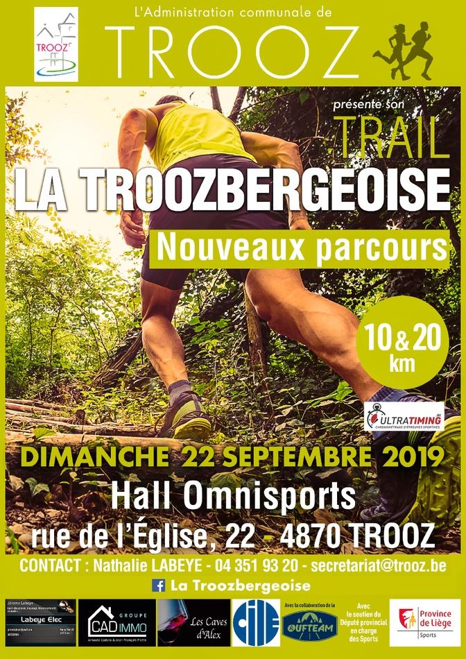 la Troozbergeoise 2019 affiche A4