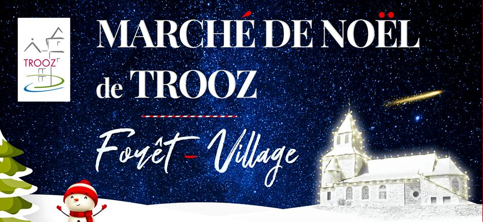 Marché de Noël à Forêt-Village les 13, 14 et 15 décembre
