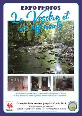 """Expo photos """"La Vesdre et ses affluents"""""""