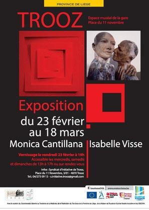 Exposition Monica Cantillana et Isabelle Visse