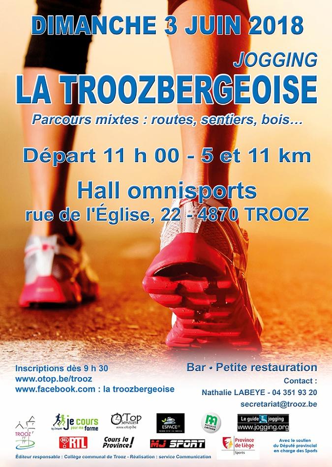 la Troozbergeoise2018 afficheweb