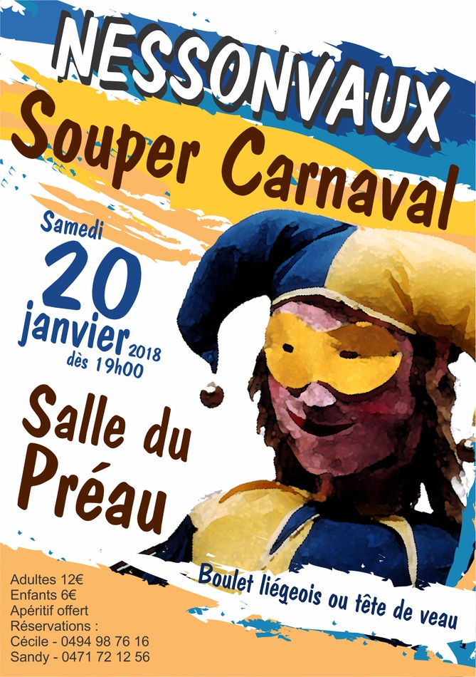 souper carnaval 2018