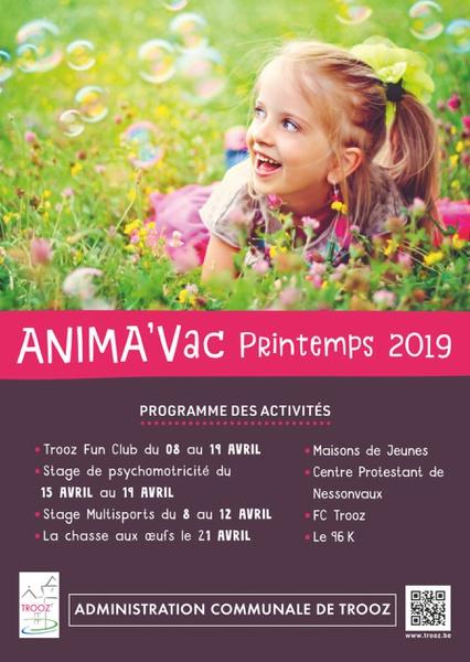 animavac printemps 2019 cover